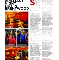 March 2012 – Brilliant Night Out in Brentwood