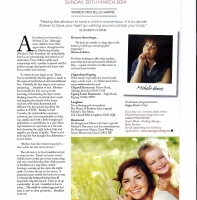 March 2014 – Mother's Day Feature