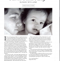 June 2013 – Father's Day