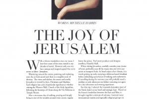 The Joy of Jerusalem