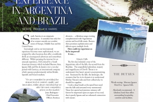 Why South America Tantalizes and Excites.